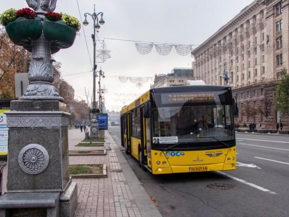 В Киеве на День Независимости из-за военного парада ограничат движение транспорта на некоторых улицах