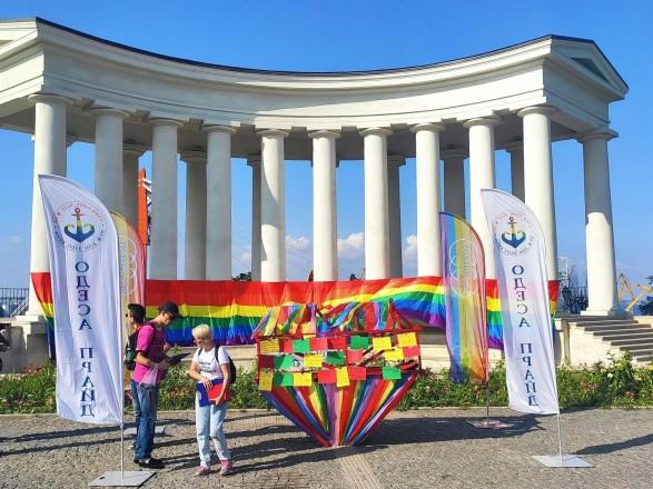 С петардами, провокациями и задержаниями: как в Одессе прошел ЛГБТ-марш