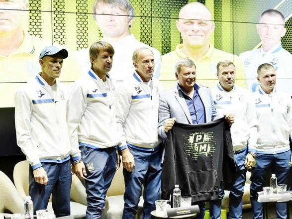 Петраков назвал состав тренерского штаба и капитана сборной Украины