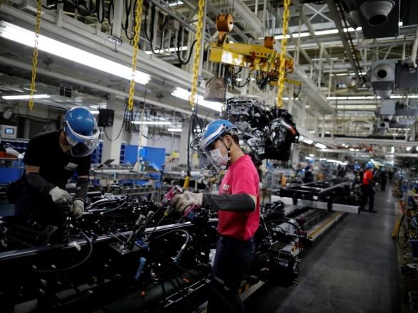 Промышленное производство Японии в июле страдает из-за вспышки COVID-19
