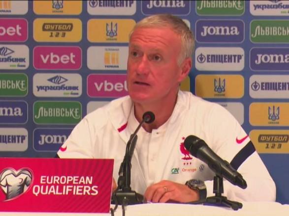Главный тренер сборной Франции о матче с Украиной: соперник организовал нам проблемы