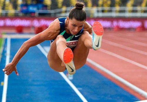 Украинская прыгунья в длину победила на турнире в Италии