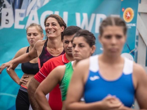Украинцы завоевали медали турнира Мировой серии по пляжной борьбе