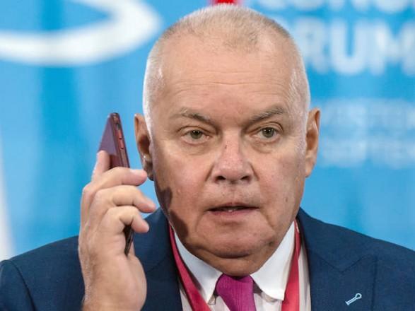 Российского пропагандиста Киселёва госпитализировали с коронавирусом