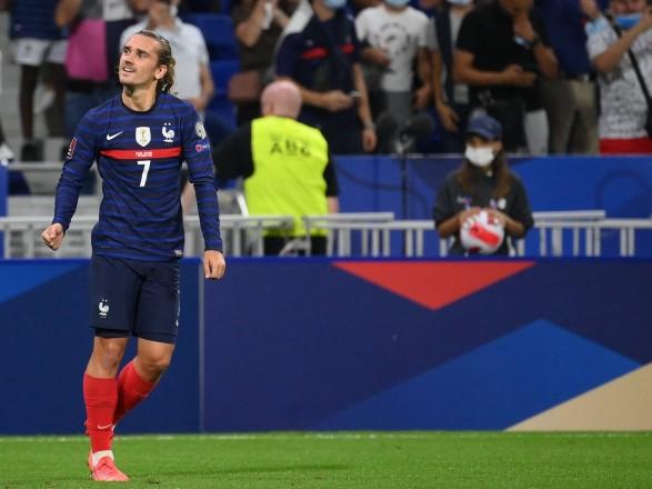 Дубль Гризманн помог Франции обыграть Финляндию в матче соперников сборной Украины