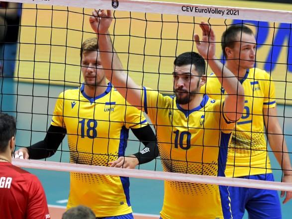 Украина сыграет с Россией в 1/8 финала чемпионата Европы-2021 по волейболу