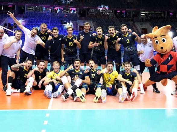 Волейбол: мужская сборная Украины досрочно вышла в плей-офф ЧЕ-2021
