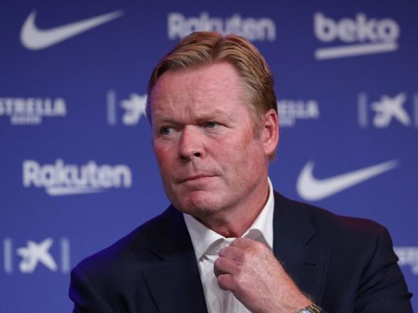 """Куман назвал футболиста, который может заменить Месси в """"Барселоне"""""""