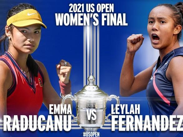 """Теннисистки не из топ-50 рейтинга WTA пробились в финал """"US Open"""""""