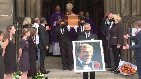 Похороны Жан-Поля Бельмондо: трогательное прощание