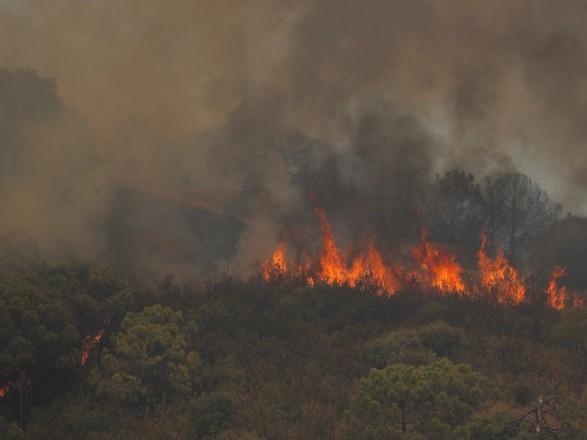 Лесные пожары в Испании: эвакуировали более 900 человек, есть погибший