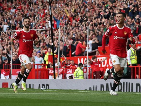 """Роналду оформил дубль в первой игре после возвращения в """"Манчестер Юнайтед"""""""