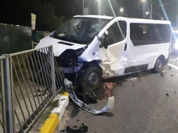 На въезде в Ирпень произошла масштабная ДТП с участием трех авто, не менее 5 пострадавших