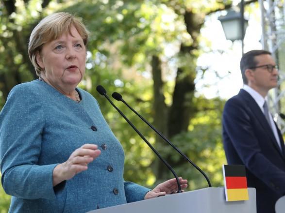 Меркель: Наша задача – сохранение за Украиной статуса партнера по транзиту газа