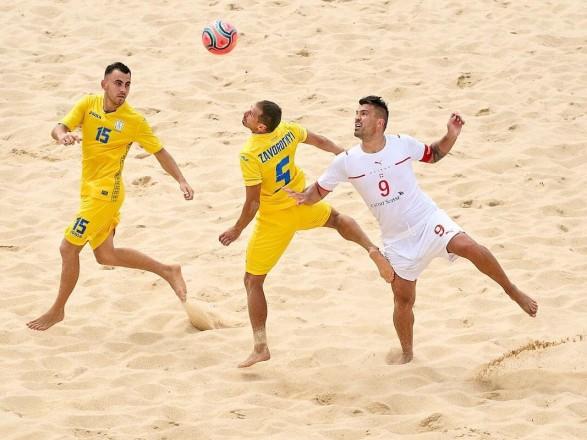 Сборная Украины победой завершила выступления в Суперфинале Евролиги по пляжному футболу