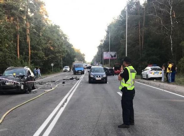 ДТП с 8 автомобилями на Столичном шоссе: водителю сообщено о подозрении