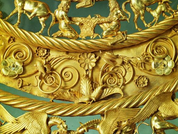 """В Кремле сказали, что хотели бы """"вернуть скифское золото"""", но этот вопрос """"не в их компетенции"""""""