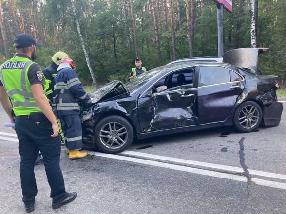 ДТП с 8 автомобилями на Столичном шоссе: виновника взяли под стражу