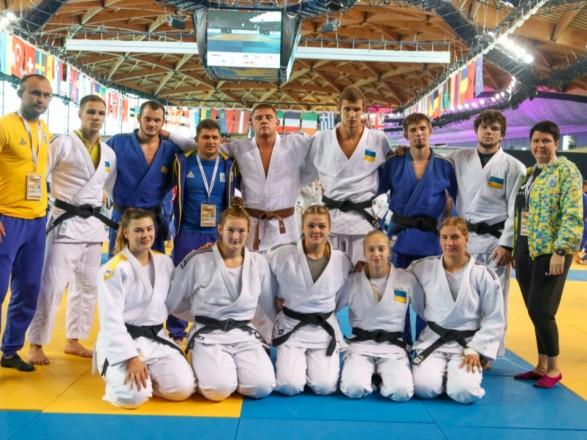 Украинцы завоевали четыре медали юниорского ЧЕ по дзюдо