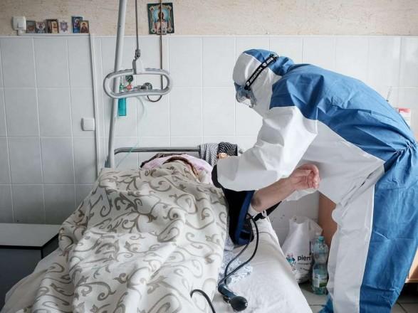 Уровень госпитализаций с COVID-19 превышен в семи регионах Украины