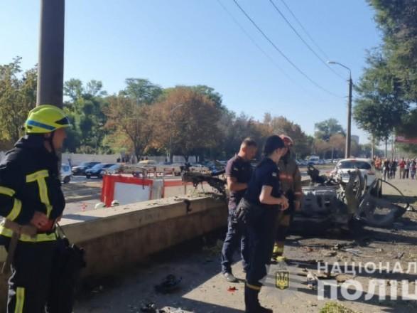 Взрыв автомобиля в Днепре: эксперт предположил, какой объём в тротиловом эквиваленте взорвался