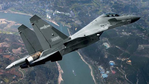 Власти Тайваня сообщили о пролете десяти самолетов ВВС КНР