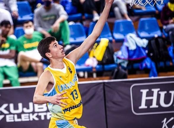 Юниорская сборная Украины победила Россию на пути в плей-офф ЧЕ по баскетболу 3х3