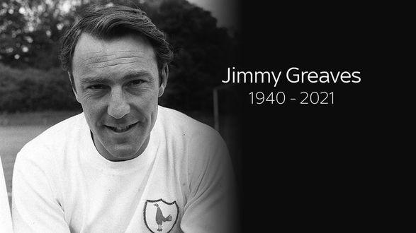 Легендарный игрок Тоттенхэма Гривз умер в возрасте 81 года