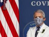 Фаучі розповів, як не допустити 1 млн смертей в США від COVID-19