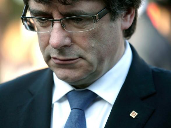 Бывшего лидера правительства Каталонии задержали в Сардинии