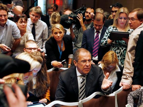 """Лавров решил прокомментировать непризнание Западом """"выборов"""" в Госдуму в оккупированном Крыму"""