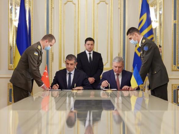 В Украине появится центр по обслуживанию турецких беспилотников Bayraktar: в ОП подписали меморандум