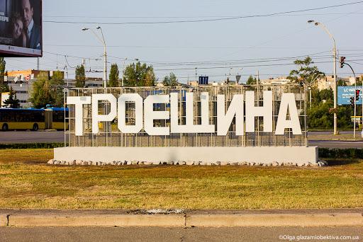 """Мешала буква """"Т"""": в Киеве мужчина хотел """"переименовать"""" Троещину"""
