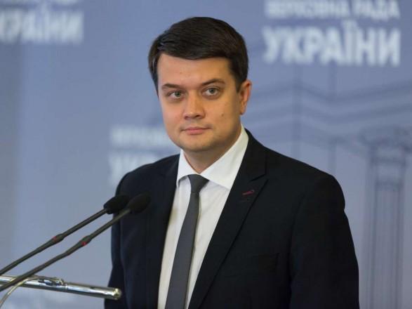 Разумков ответил, стоит ли Зеленскому идти на второй срок