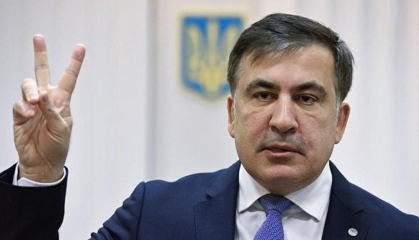 Возможно, сейчас меня задержат: Саакашвили обратился к сторонникам за минуту до ареста