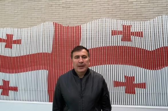 Саакашвили считает, что попал в Грузию законным путем