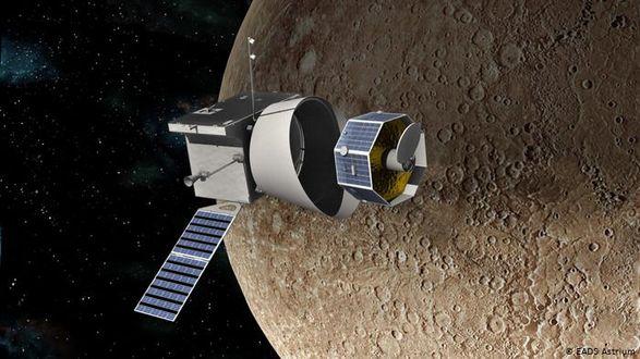 Миссия на Меркурий: зонд BepiColombo прислал изображение ближайшей к солнцу планеты