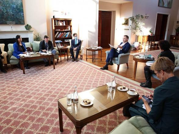 """Монастырский на встрече с послами стран """"G7"""" назвал пять основных направлений развития системы МВД"""