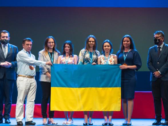 Женская сборная Украины стала призером командного ЧМ по шахматам