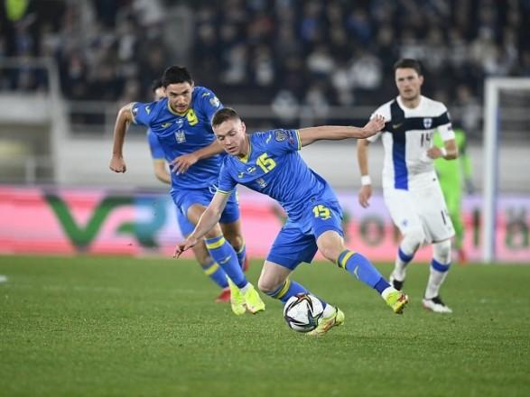 ЧМ-2022: Украина в европейской квалификации одержала свою первую победу - в матче с финнами