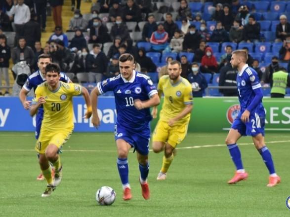 Сборная Боснии и Герцеговины победила в матче соперников Украины в отборе на ЧМ-2022