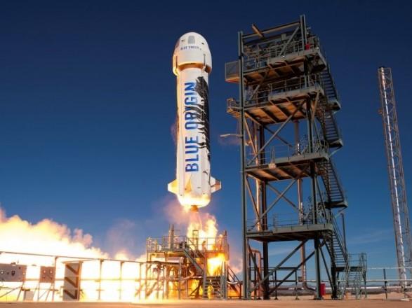 Безос перенес запуск космического корабля New Shepard