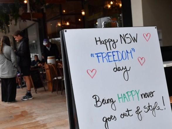 """""""День свободы"""": Сидней вышел из 107-дневной изоляции"""