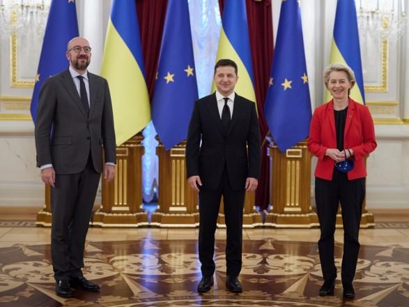 Саммит Украина-ЕС: главы сообщества встретились с Зеленским