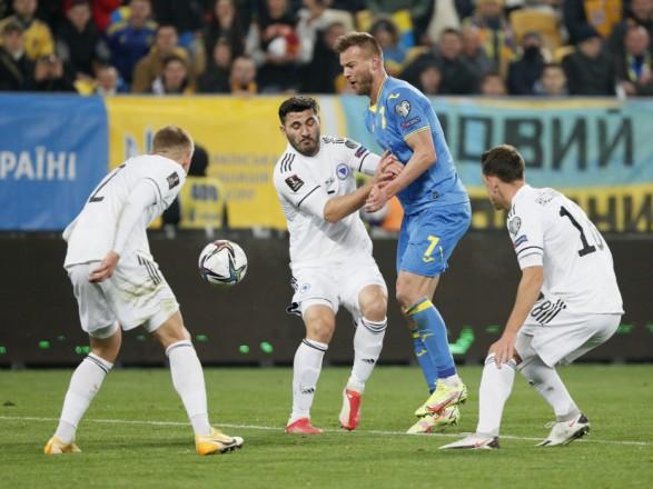 Боснийцы сравняли счет в матче с Украиной