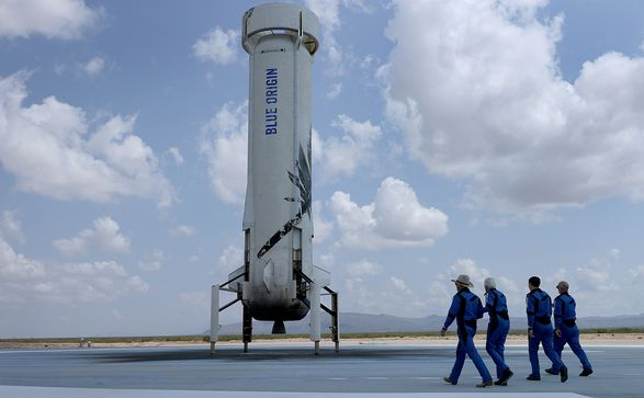 Корабль New Shepard компании Blue Origin выполнил второй пилотируемый полет в космос