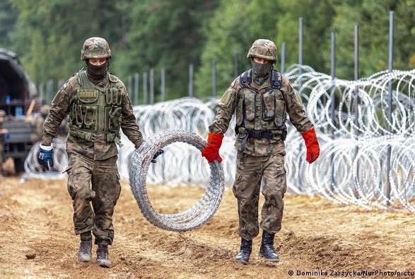 Польша планирует построить заграждения на границе с Беларусью
