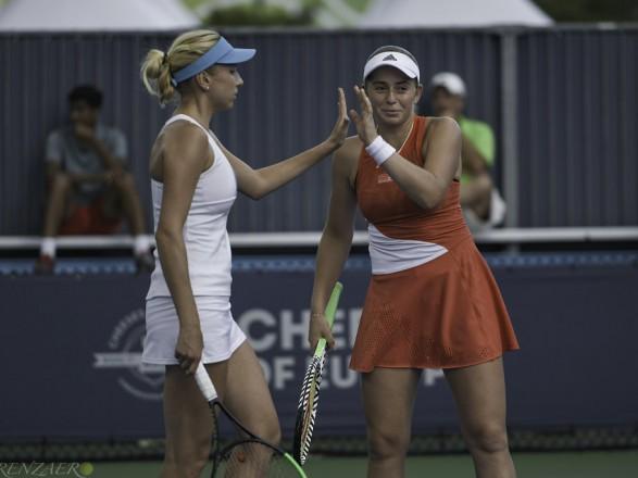 Украинская теннисистка с напарницей обыграли лидеров посева на турнире в Индиан-Уэллс